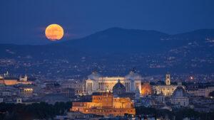 Transmisión en vivo de la Luna Llena de la fresa y la superluna