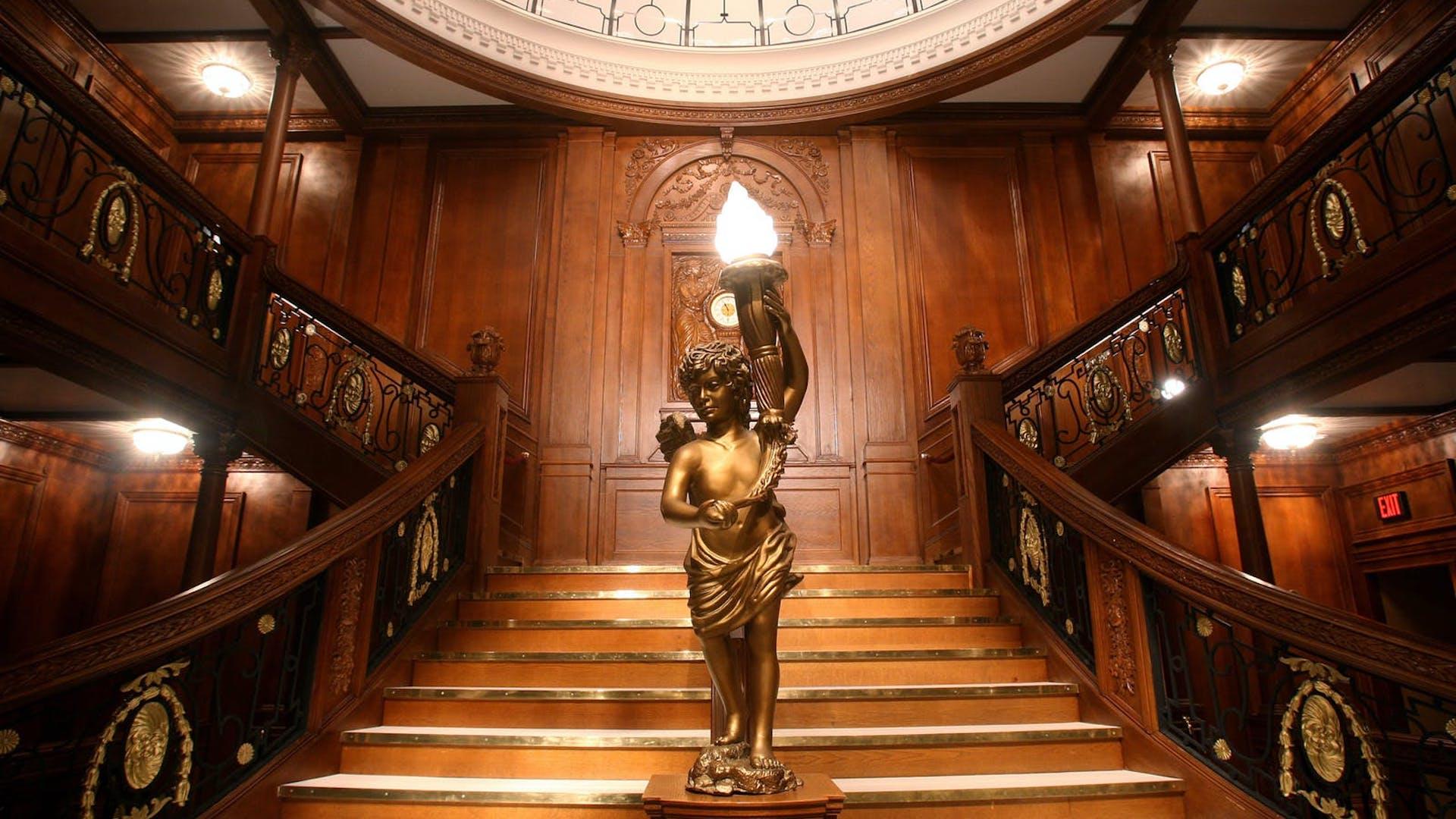 Se puede visitar el museo del Titanic en Orlando: The Artifact Exhibition