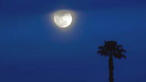 Llega la luna llena y superluna del 24 de junio: transmisión en vivo