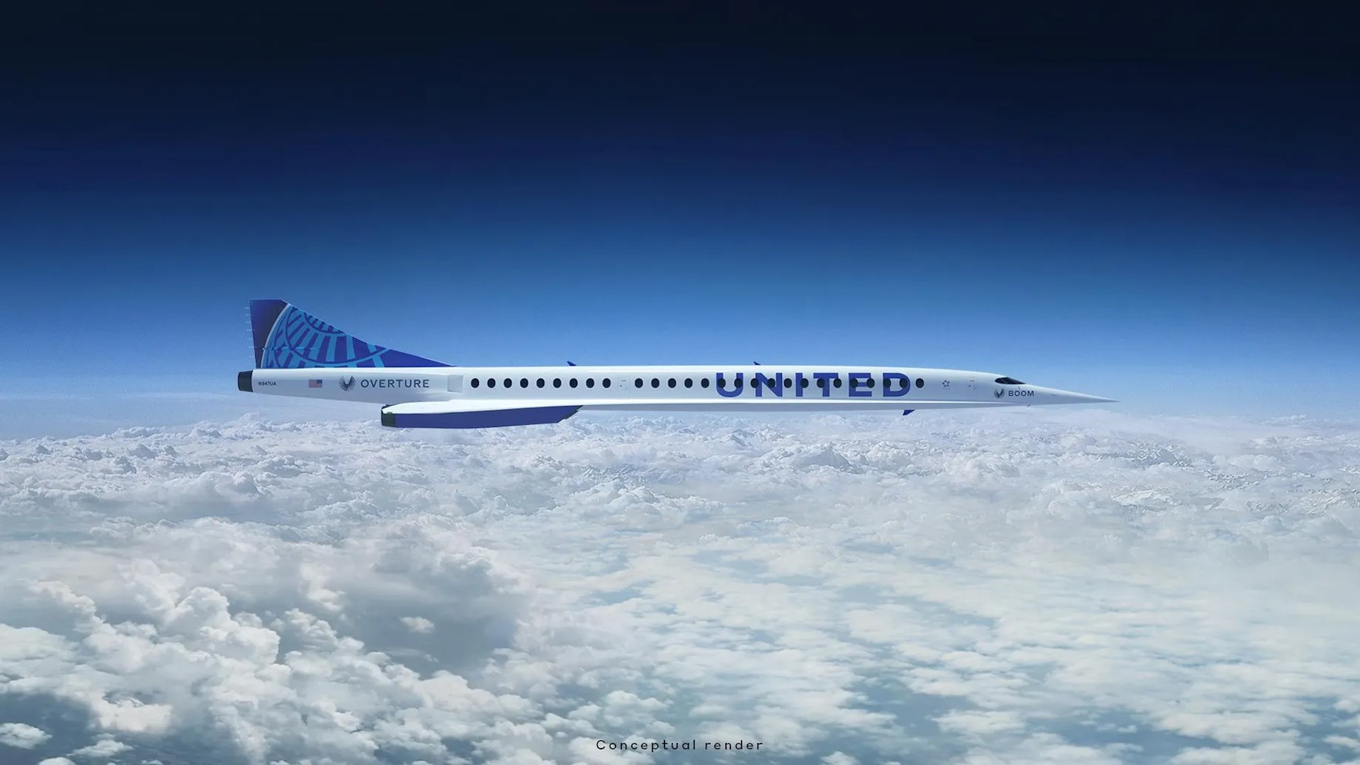 Así serán los aviones supersónicos de la aerolínea United: video