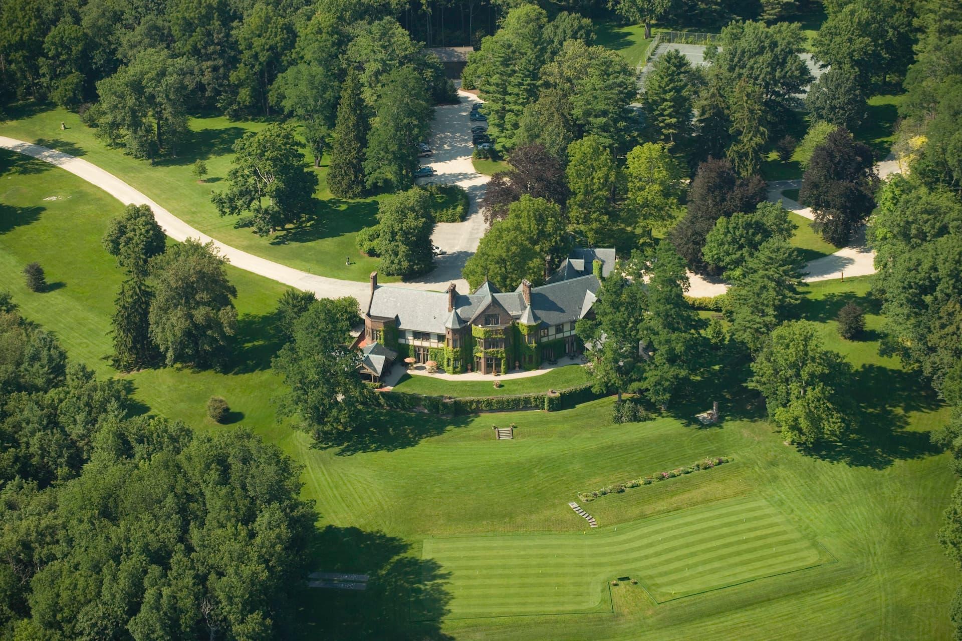 Así es el lujoso hotel Blantyre en Berkshires, entre Nueva York y Boston