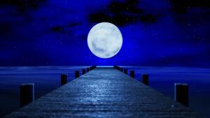 ¿Qué es la luna llena azul y cuándo se verá en 2021?