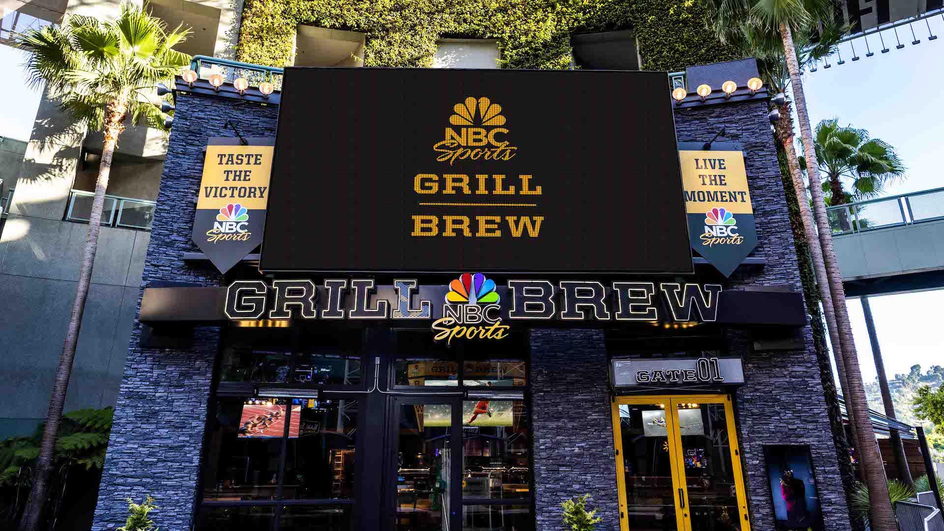 El parque temático Universal sumó un nuevo restaurante: NBC Sports