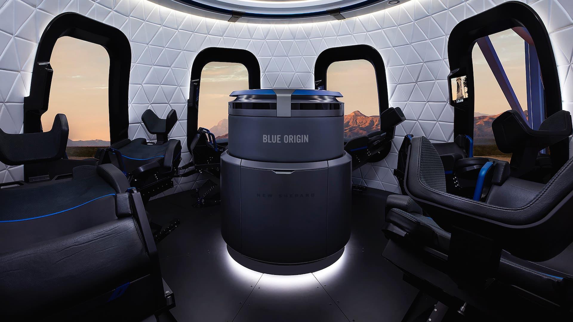 Transmisión en vivo del lanzamiento de New Shepard: Bezos al espacio