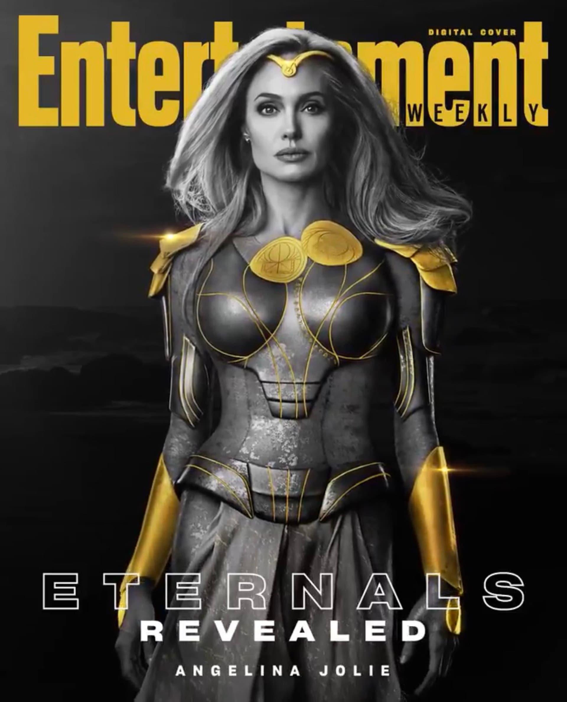 Estos son los protagonistas de la película Eternals de Marvel: reparto
