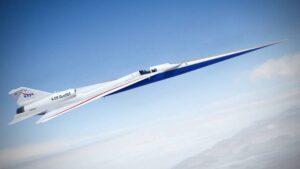 Así es el nuevo avión supersónico X-59 QueSST de la NASA: imágenes