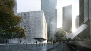 Así será el centro de artes frente al One World Trade Center: imágenes