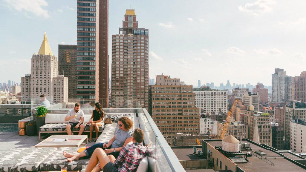 Siete rooftops imperdibles en Nueva York para visitar y conocer