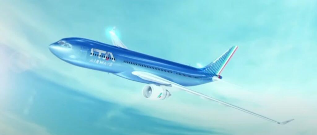 Así serán los aviones de ITA la aerolínea que reemplaza a Alitalia