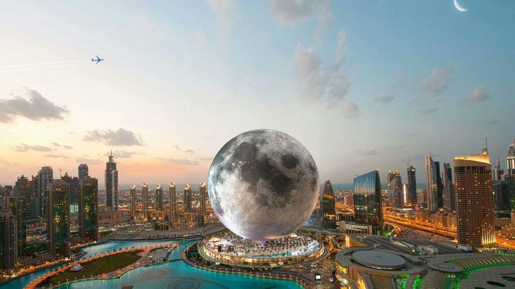 Así será Moon Resort el nuevo hotel que emulará a la Luna en Las Vegas