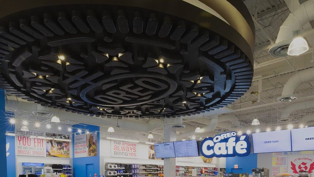 Así es el primer Oreo Café del mundo en imágenes