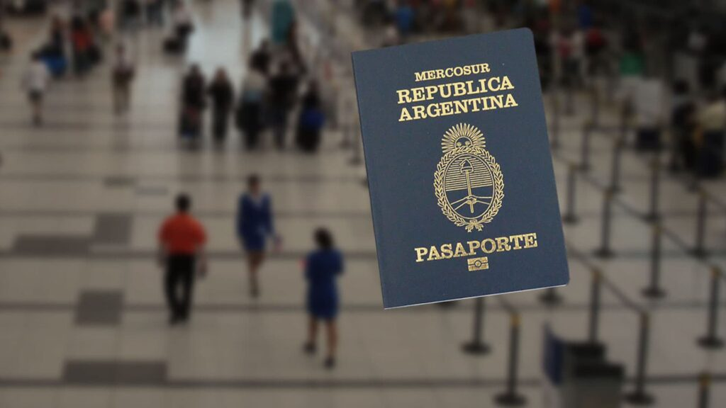 El pasaporte de Argentina ocupa el puesto 20 a nivel mundial