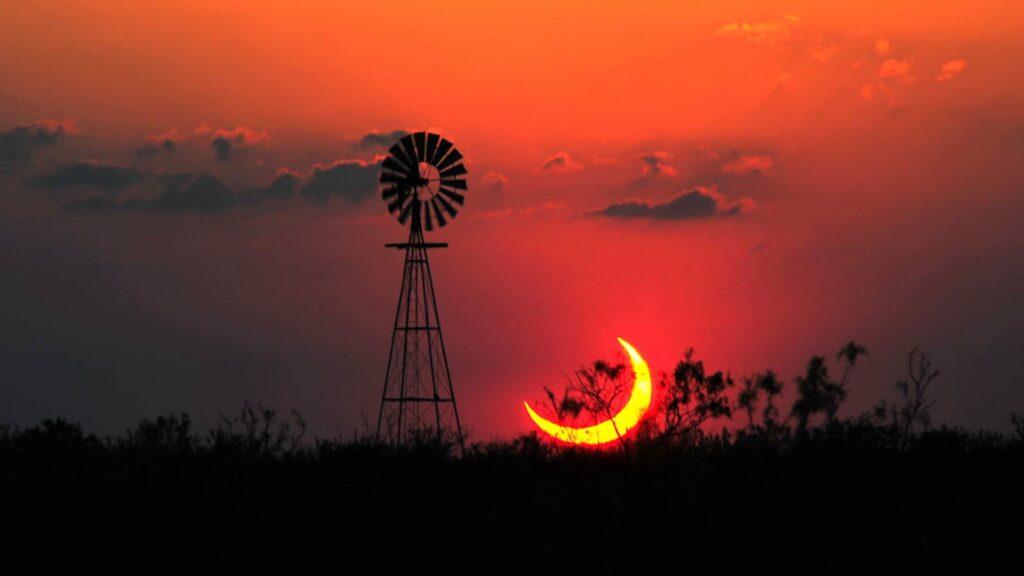¿Cuándo y dónde se verá el primer eclipse de 2022?